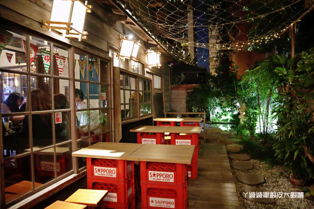 新竹居酒屋推薦大村武串燒居酒屋!護城河邊美到翻的日式老宅,穿越時空享受懷舊氛圍吃美食喝酒