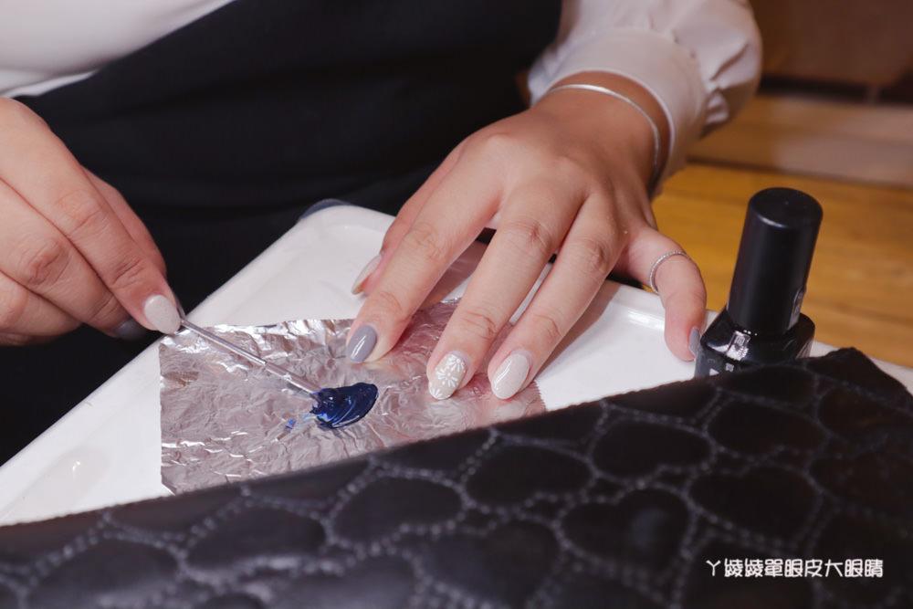 新竹東區美甲推薦嘉琳美學!原住民泰雅圖騰風格凝膠指甲,接睫毛獨創專利技術6D高階開花技法