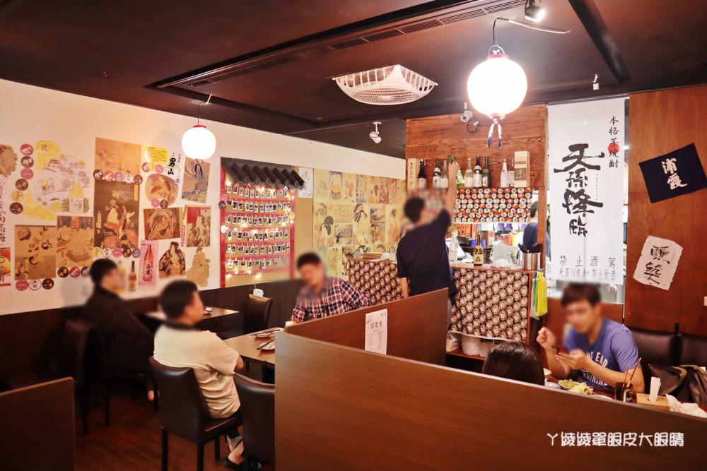 新竹居酒屋推薦醺築居酒屋!新竹科學園區附近美食,新竹宵夜平價居酒屋不用一千元就可以吃得很滿足
