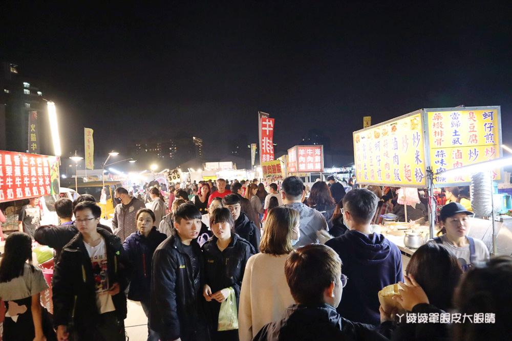竹北夜市美食小吃懶人包!竹北夜市二六日營業時間、地址、停車場及新竹夜市時間表