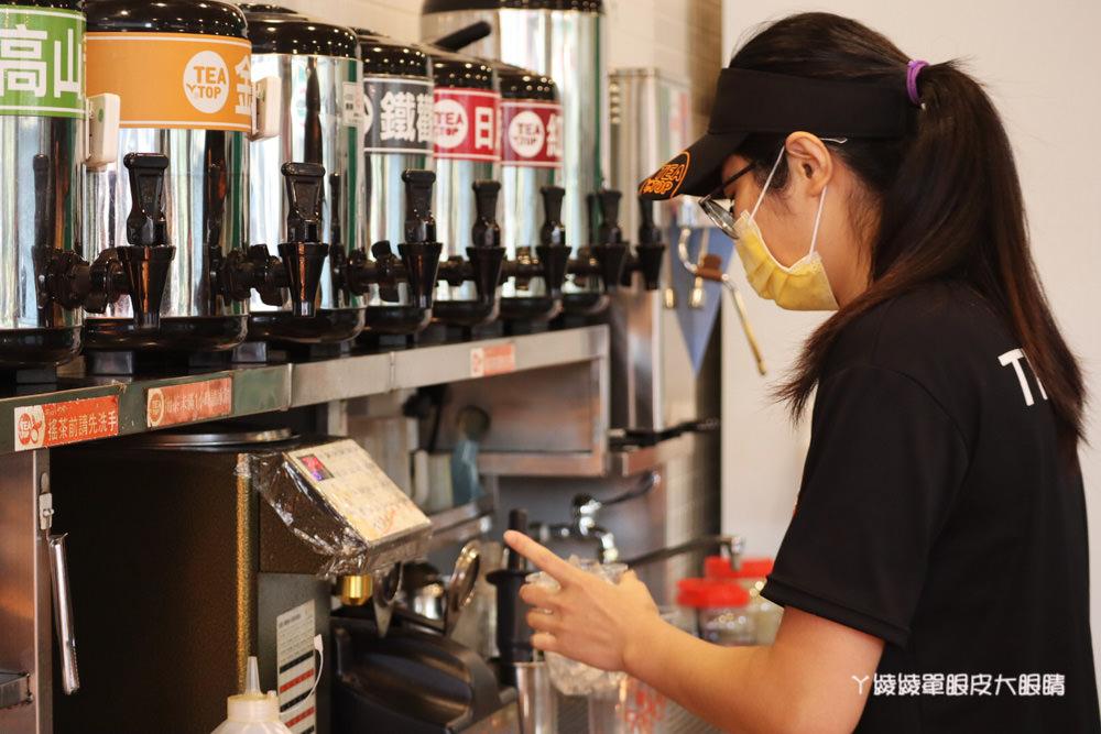 飲料外送推薦台灣第一味TEA TOP!紅豆粉粿冰棒變飲品啦!復刻版古早味紅豆粉粿鮮奶,咀嚼系飲料控的最愛