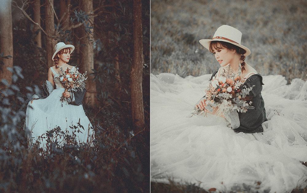 新竹婚紗攝影工作室推薦|路地裏火星兔子,拍下最珍貴的時刻!新人婚紗試穿攝影分享