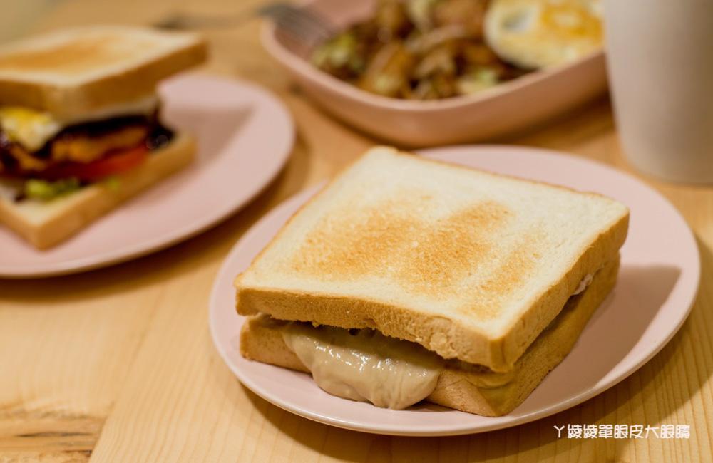 這家店名好可愛!新竹早午餐不准賴床,芋泥控必吃的芋泥伯爵卡士達吐司、超人氣韓式糖餅