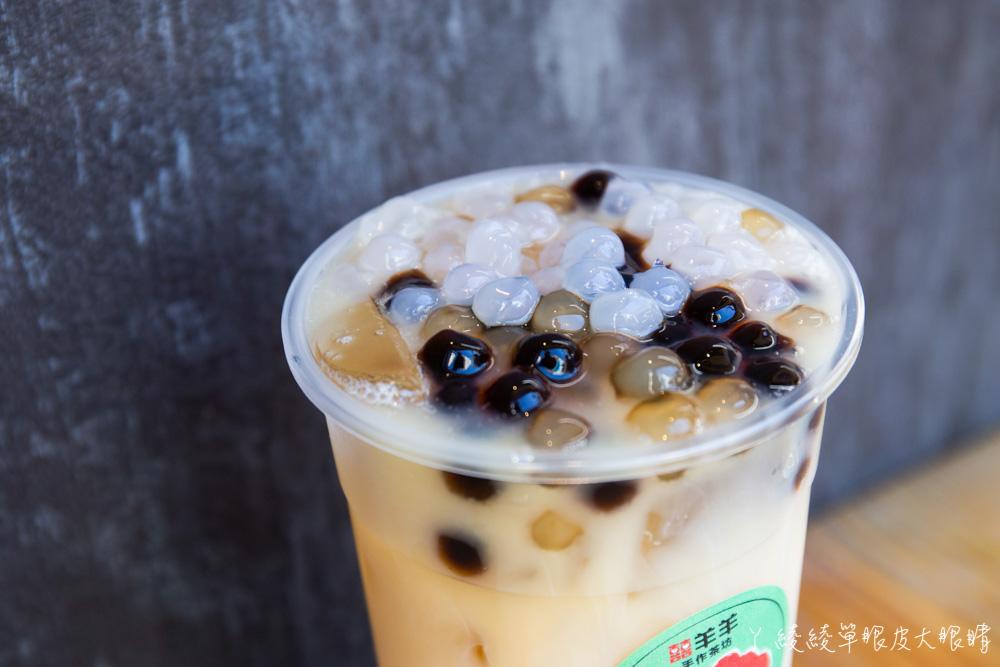 新竹飲料外送推薦囍羊羊手作茶坊|就是要讓你猜不出賣什麼的飲料店!主打料多、喝超飽