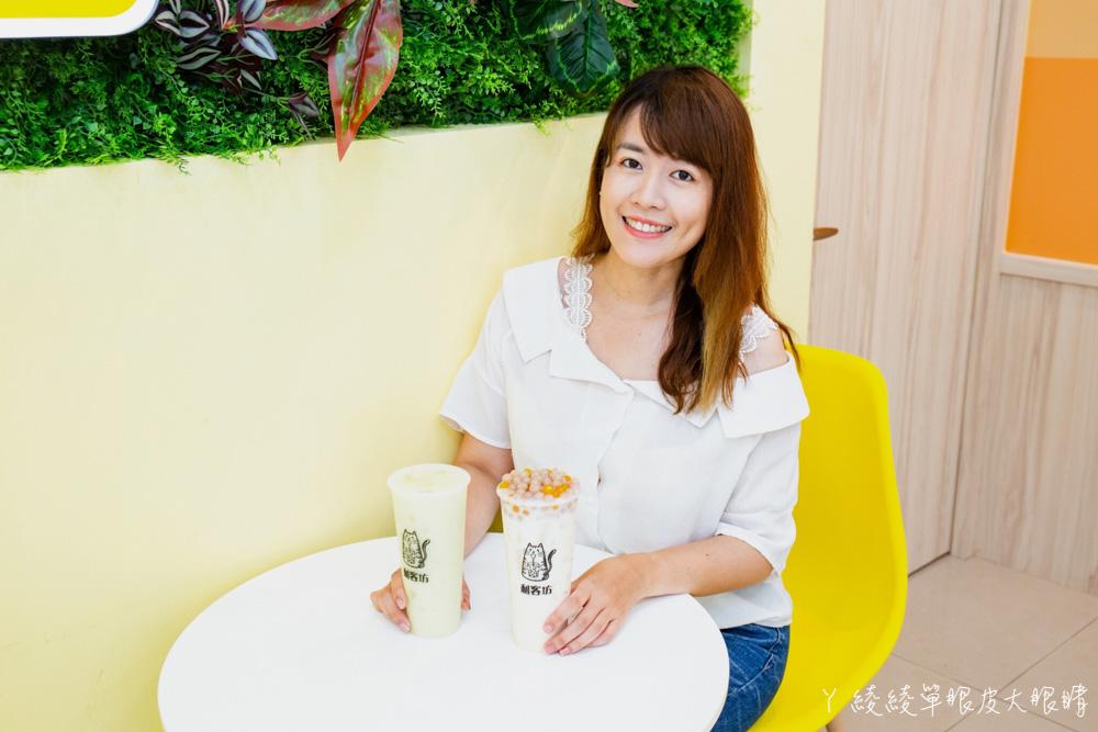 新竹飲料利客坊芝士奶蓋專門店|可愛喵星人打造的手搖飲料店,從日本紅回台灣的人氣芝士奶蓋