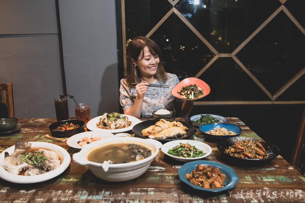 新竹巨城附近美食推薦隆恩餐館!與眾不同的客家創意料理,展現復古與現代風的浪漫情調