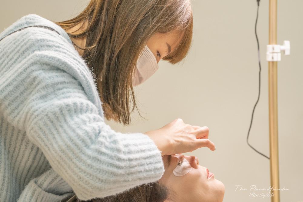 新竹接睫毛推薦浪漫精靈美學工作室!情人節讓人對你目不轉睛,私心推薦自然妝感美睫店