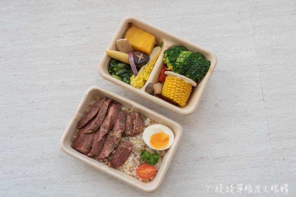 新竹結合小超市概念的健康餐盒外帶便當店,內用空間美得像咖啡廳!午餐便當外送吃這個