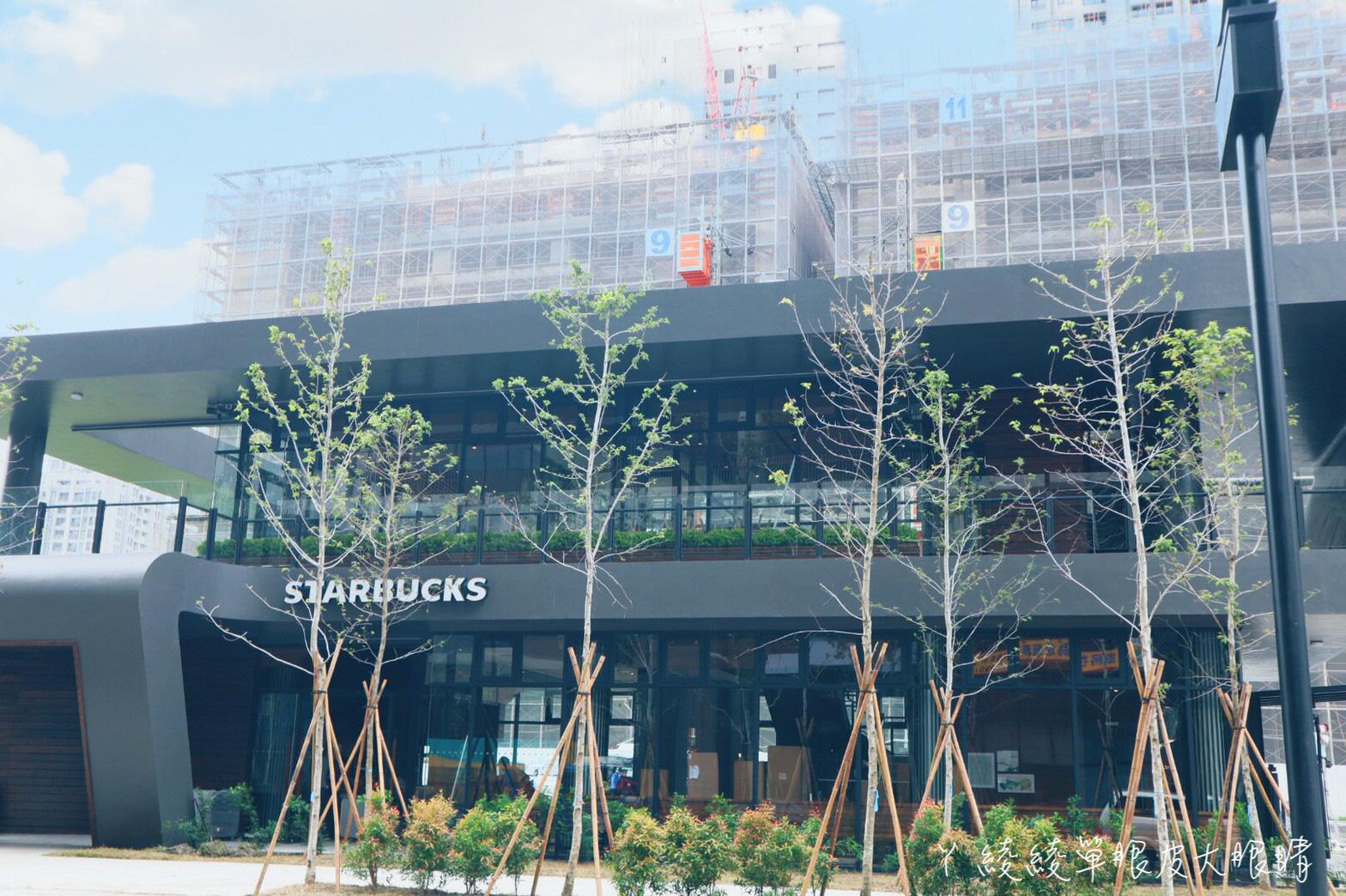 新竹星巴克關埔旗艦店完工倒數,新竹第二間得來速門市!好市多商圈附近光埔重劃區
