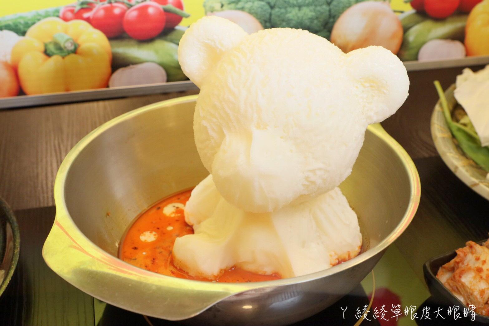 桃園火鍋麻六味鍋物|最便宜一鍋只要二百多元!超可愛熊熊泡湯鍋,超過20種蔬食自助吧全部吃到飽