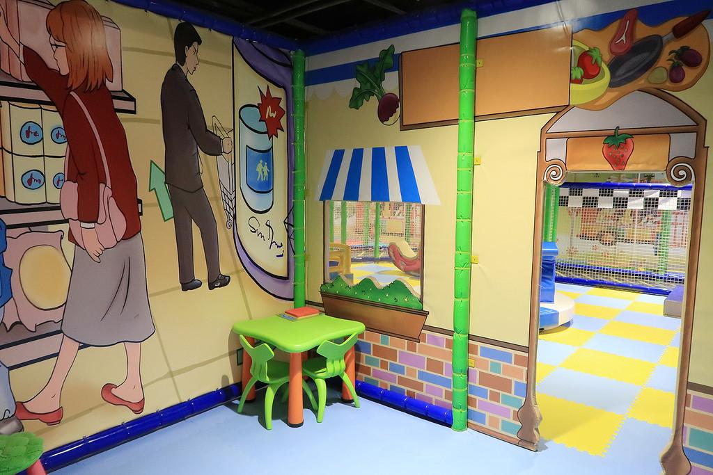 台中車站附近親子樂園推薦!黃金堡親子樂園