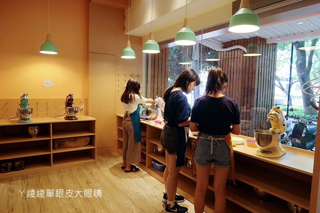 自己做烘焙聚樂部!新竹護城河旁DIY烘焙店,一起動手做甜點吧!