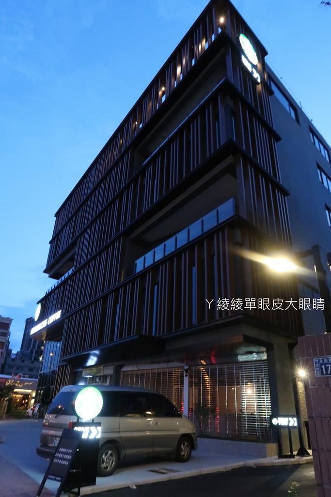 星巴克竹北自強門市 新竹第一家、全台第十三間車道型門市