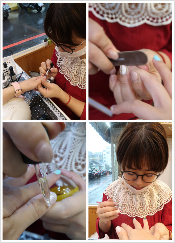 台中一中街美甲推薦!愛甲玩美,清新少女也愛的乾燥花指甲款式