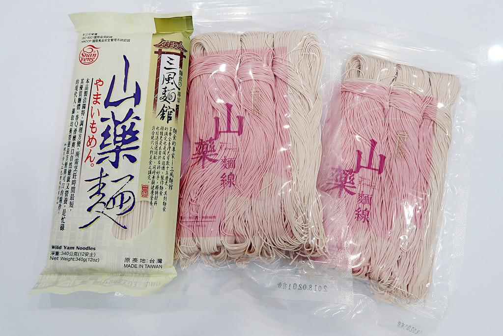 ▌宅配 ▌三風麵館♡ 山藥麵線懶人食譜-醬油拌麵線;以傳統炊仔麵線工法延續記憶中的好味道。