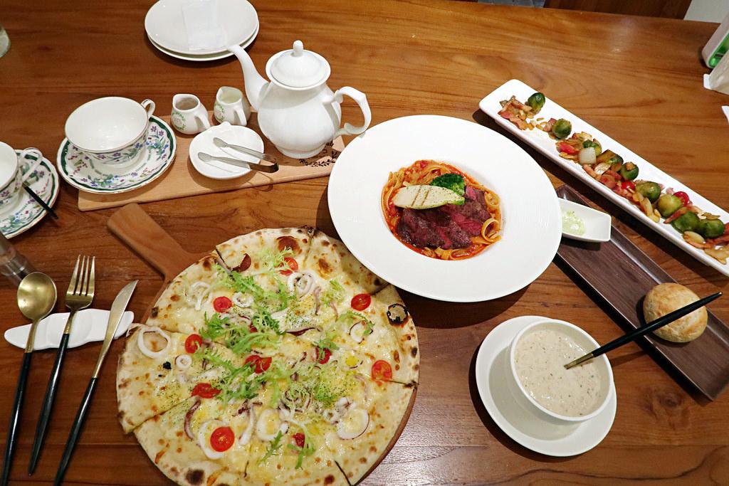 新竹好市多附近美食!YATS葉子 新竹義式餐廳推薦,北歐裝潢、氣氛浪漫、餐點好吃