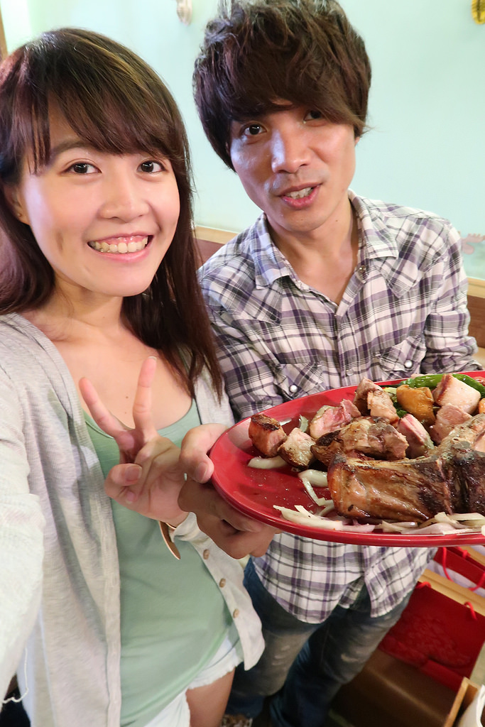 新竹竹北美式餐廳,魯道夫美式主題餐廳-Rudolph,戰斧豬排、巨斧豬排登場