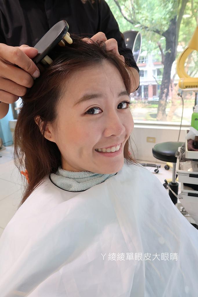 台北中山區美髮kplus,捷運中山站髮廊,來找設計師Hank做頭皮spa跟護髮吧!