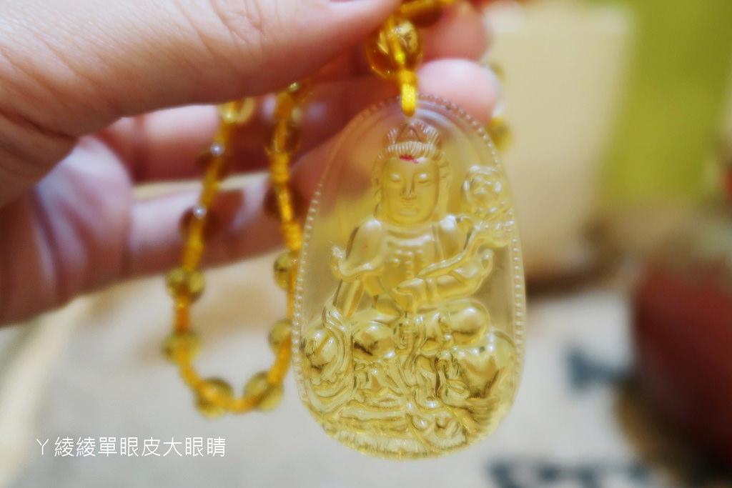 財神小舖|開運小物分享:生肖本命佛-六字箴言琉璃項鍊