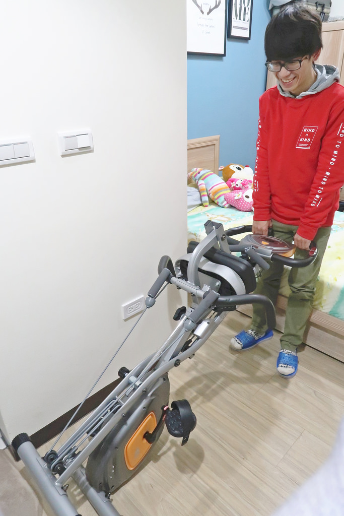 好吉康 XR-G3磁控飛輪健身車,居家健身好幫手