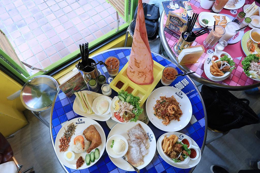 台北大安區美食 Mamak檔星馬料理!馬來西亞風味特色小吃,價格親民!超吸睛的香酥塔餅!台北東區近捷運忠孝敦化站